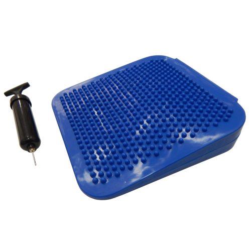 Capetan® Better Sit keilförmiges Sitzkissen in der Größe 34 x 35 x 7,5 cm; Luftmenge durch ein Ventil optimierbar – Keilkissen