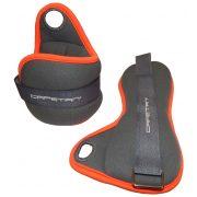Capetan® Ein Paar Hand- und Fußgewichte 2 x 2 kg, mit Daumenschlaufe
