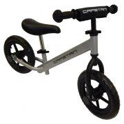 """Capetan® Energy Shadow Line Silberfarbenes Laufrad mit 12"""" Rädern – Kinderfahrrad ohne Pedal"""