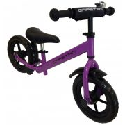 """Capetan® Energy Plus lilafarbiges Laufrad mit 12"""" Rädern mit Schutzblech und Klingel – Kinderfahrrad ohne Pedal"""