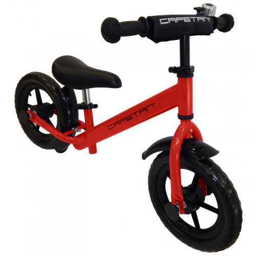 """Capetan® Energy Plus Rotes Laufrad mit 12"""" Rädern mit Schutzblech und Klingel – Kinderfahrrad ohne Pedal"""