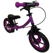 """Capetan® Sirius Premium Line lilafarbiges mit Bremse versehenes Laufrad mit 12"""" Rädern mit Schutzblech und Klingel – Kinderfahrrad ohne Pedal"""