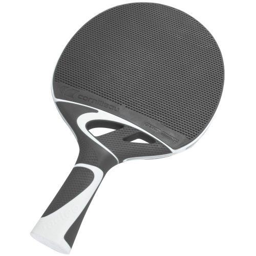 Cornilleau Tacteo 50 Tischtennisschläger für Außenraum, weiß/grau, ultra wetterfest