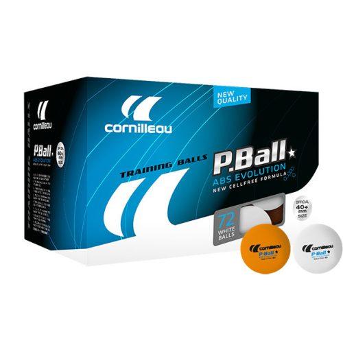 Cornilleau Tischtennisball Pro 72er Pack, Farbe: Weiß