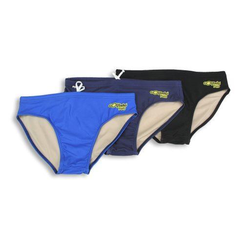 Golfinho Schwimmhose für Wasserballer, M-XL, schwarz