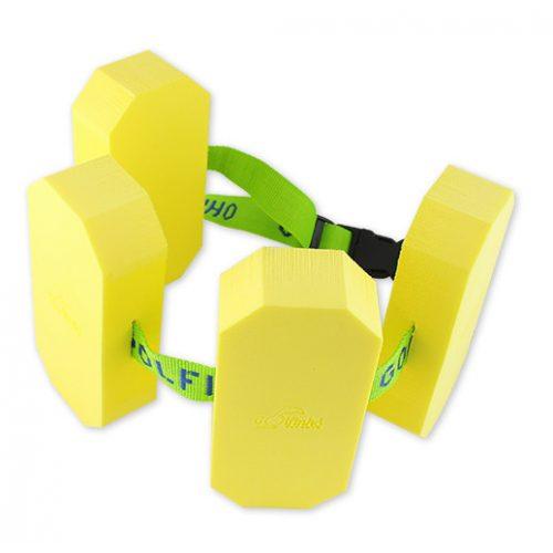 Schwimmgürtel mit 4 Blockschwimmern – Juniorengröße, bei 18-30 kg Körpergewicht, zwischen 3-6 Jahren empfohlen