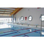 Säulenset ohne Seil zur Golfinho Rückenschwimm-Starthilfe – 2 m lange Säulen, 43 mm Durchmesser