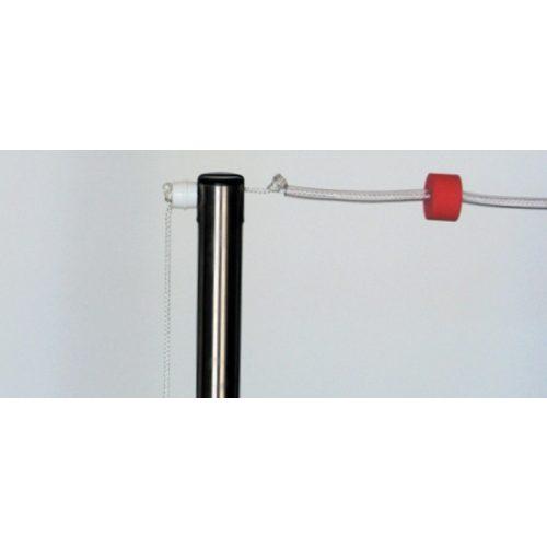 Rückenschwimm-Set mit 2x25 m Seilen, Fähnchen und Ständern für zwei Seilenreihen – Markierungsreihe für Rückenschwimmen für 25 m lange Becken