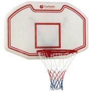 Garlando Seattle Streetballbrett 110 x 70 cm – Basketballbrett für draußen zur Befestigung an der Wand