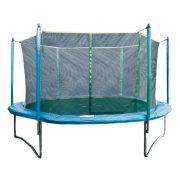 Garlando Combi L 305 cm Durchm. Trampolinset mit Sicherheitsnetz – Trampolin mit Schutznetz in extra sicherer, 68 cm hoher Ausführung