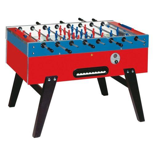 Garlando Maracana Münzprüfer-Fußballtisch mit durchgehenden Stangen