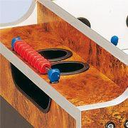 Garlando Olympic Münzprüfer-Fußballtisch mit durchgehenden Stangen