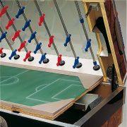 Garlando Olympic Münzprüfer-Fußballtisch mit LED-Beleuchtung