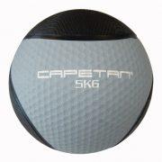 Capetan® Professional Line 5 kg springender Medizinball aus Gummi (auf Wasser schwimmend)