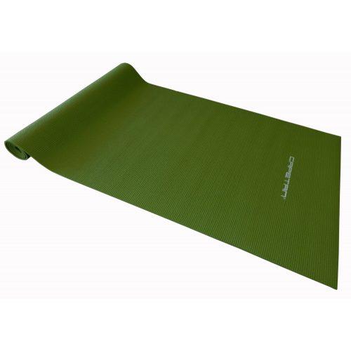 Capetan® PVC Jogamatte 173 x 61 x 0,4 cm in grüner Farbe – Fitnessmatte