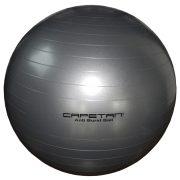 "Capetan® silberfarbener 65 cm Durchm. ""Anti-Burst"" explosionsgeschützter Gymnastikball"