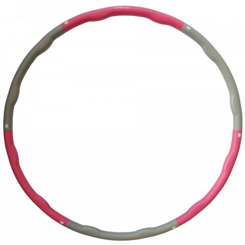 Capetan® 100 cm Durchm. Hula-Hoop-Reifen mit 1200 g Gewicht & Massageoberfläche – gepolsterter Hula-Hoop-Reifen