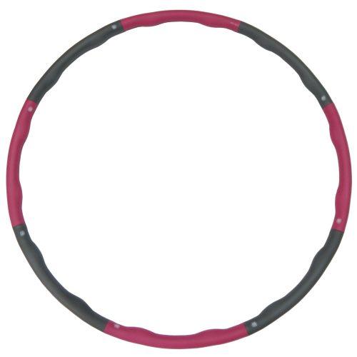 Capetan® 98 cm Durchm. Hula-Hoop-Reifen mit 1000 g Gewicht & Massageoberfläche – gepolsterter Hula-Hoop-Reifen