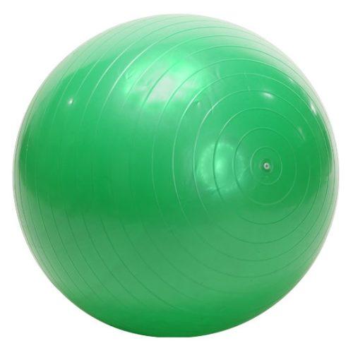 Standardmäßiger Gymnastikball – 65 cm, grün