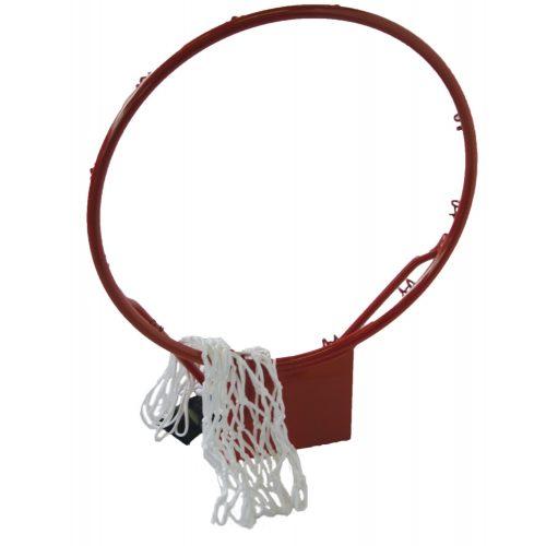 Capetan Basketballring mit Netz – aus 16 mm dickem Metall; 45 cm Durchm. Ring