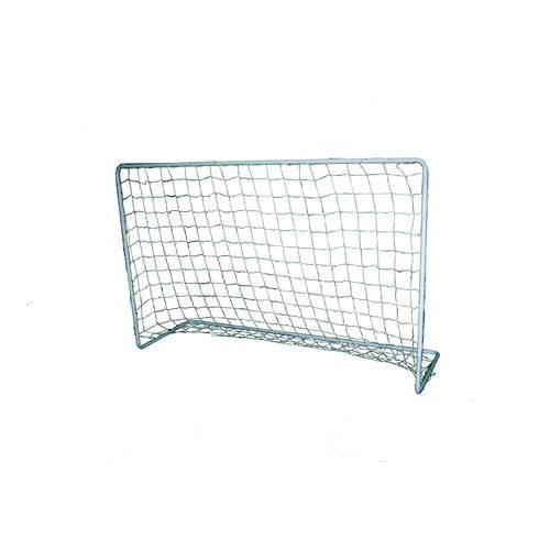 Hobby-Fußballtor aus Metall – 180 x 120 x 60 cm, aus Elementen zusammenfügbar