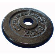 Capetan® 2,5 kg Hantelscheibe aus Stahl mit Hammerschlaglackierung, mit 31 mm Lochdurchmesser