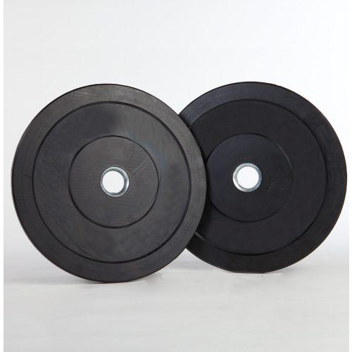 Capetan® 2,5 kg gummierte standardmäßige Hantelscheibe von 31 mm Durchm. mit einem Stahlring in der Mitte