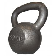 Capetan® Oracle 12 kg Kugelhantel mit Hammerschlaglackierung – Glockenhantel