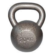 Capetan® Oracle 20 kg Kugelhantel mit Hammerschlaglackierung – Glockenhantel