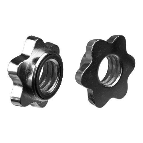 Capetan® erweiterbares Einhandhantelset mit lackierten Stahlscheiben, insg. 15 kg