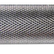 Capetan® 35,5 cm x 30 mm Durchm. verchromte Einhandstange – Kurzhantelstange mit Schraubverschlüssen