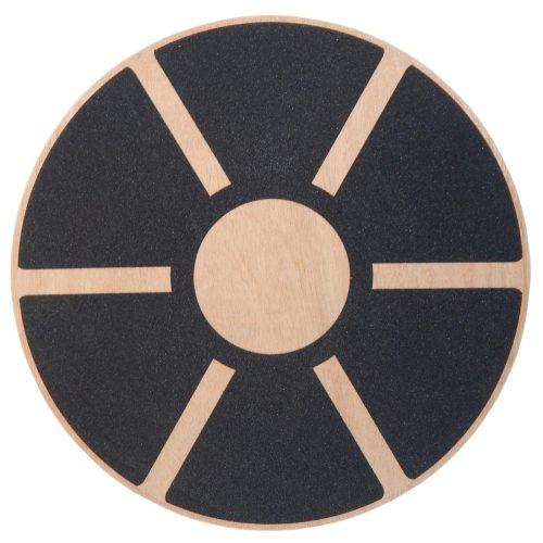 Capetan® 40 cm Durchmesser Balancekreisel aus Holz – Balancescheibe
