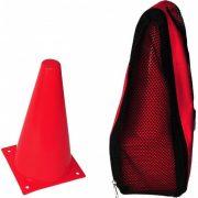 Halter/Transportsack für Markierungshütchen mit Schultertrage (für 20 Stck. 30 cm hohe Markierungshütchen geeignet)