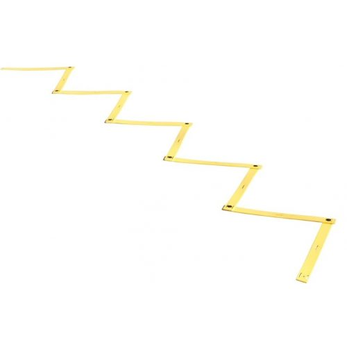 Criss Cross Koordinationsleiter 9 m – faltbar, einfarbig